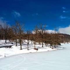 Nebrodi under the snow. Maullazzo