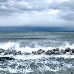 The sea of the Nebrodi in February
